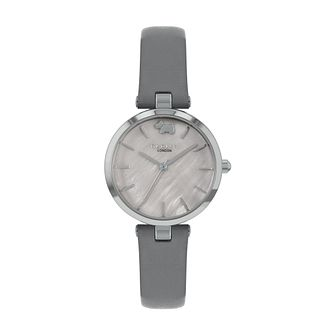 Radley West View Ladies' Grey Leather Strap Watch - Product number 5085721
