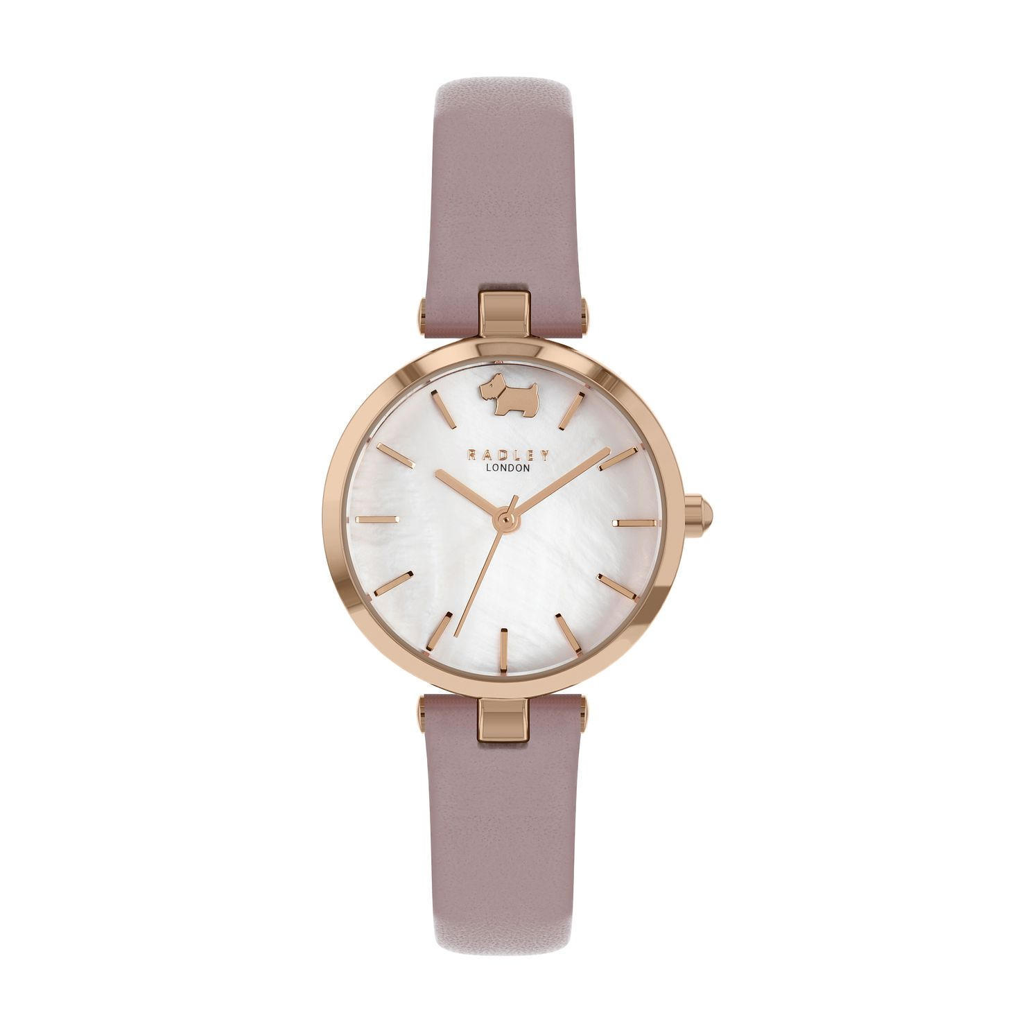 Radley West View Ladies' Pink Leather Strap Watch - Product number 5085756