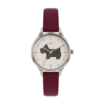 Radley Merdian Ladies' Red Leather Strap Watch - Product number 5085764