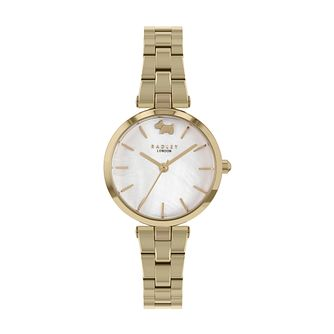 Radley West View Ladies' Gold Tone Bracelet Watch - Product number 5086256