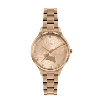 Radley Wilton Way Ladies' Rose Gold Tone Bracelet Watch - Product number 5086426