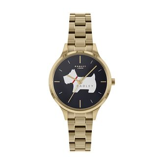 Radley Merdian Ladies' Gold Tone Bracelet Watch - Product number 5086442