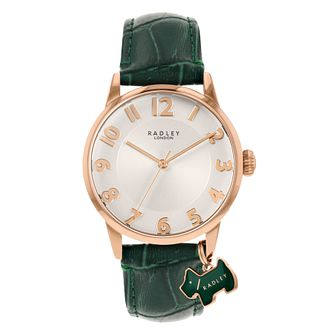 Radley Ladies' Black Leather Strap Watch - Product number 5086833