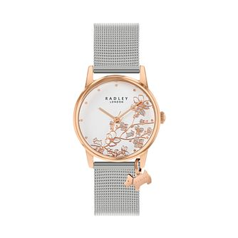 Radley Ladies' Silver Tone Mesh Bracelet Watch - Product number 5086981
