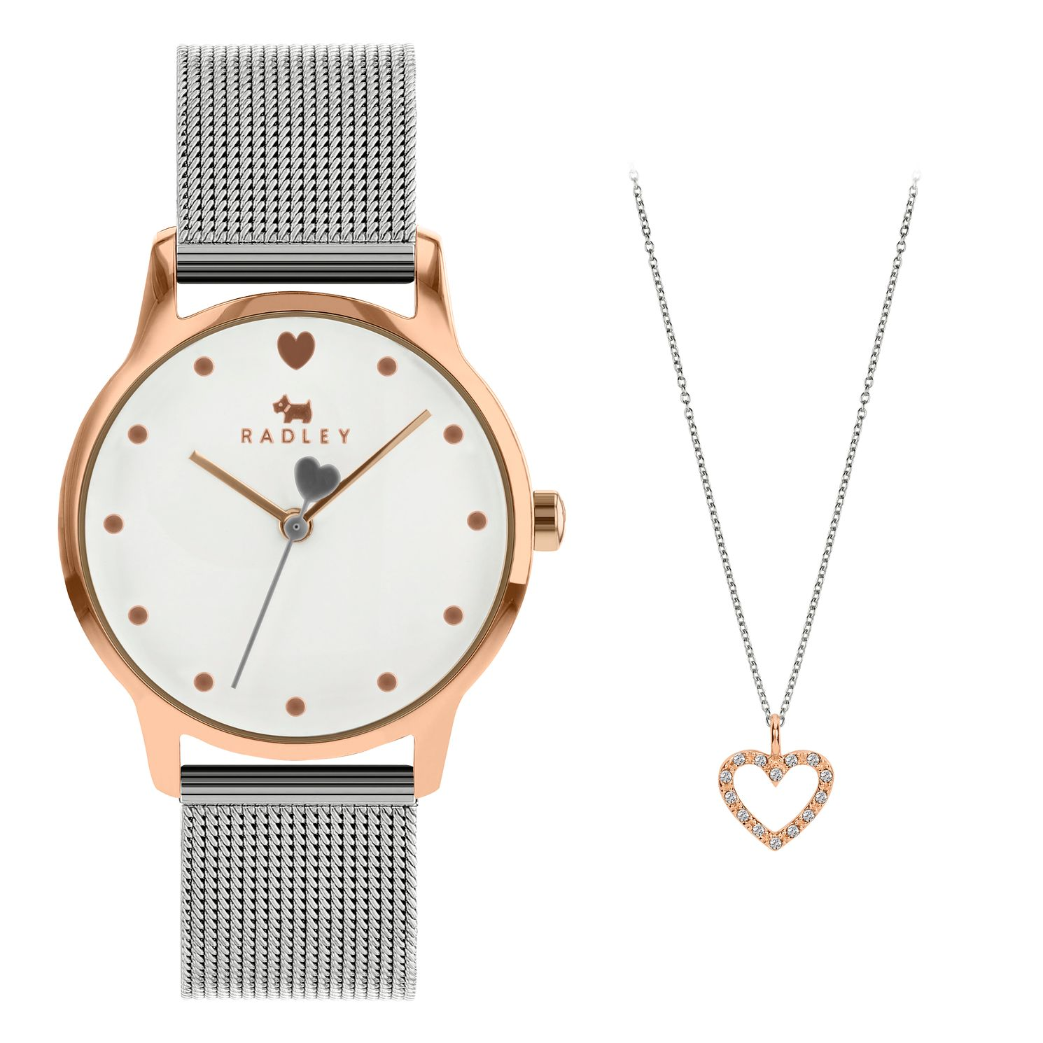 Radley London Heart Bracelet Watch & Necklace Gift Set - Product number 5087074