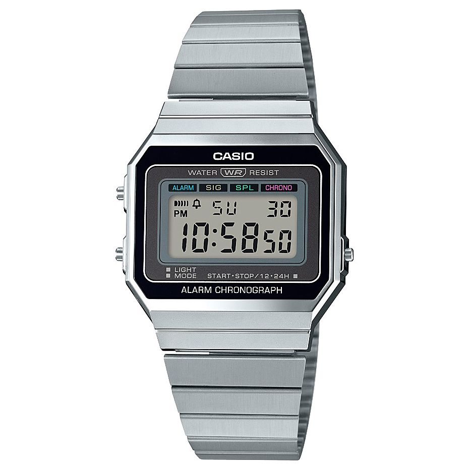Casio Vintage Stainless Steel Bracelet Watch - Product number 5089522