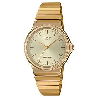 Casio Vintage Collection Gold Tone Bracelet Watch - Product number 5090288