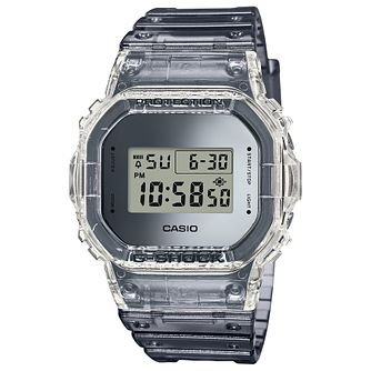 Casio G-Shock Super Clear Skeleton Resin Strap  Watch - Product number 5091047