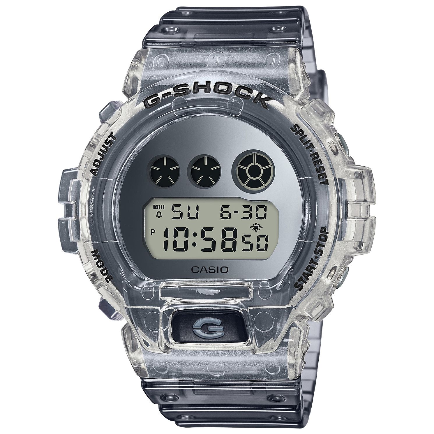 Casio G-Shock Super Clear Skeleton Resin Strap  Watch - Product number 5091055