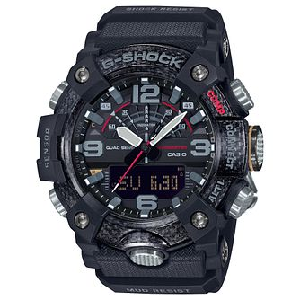 Casio G-Shock Men's Mudmaster Black Rubber Strap Watch - Product number 5091128