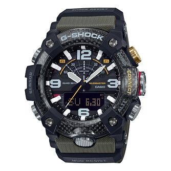 Casio G-Shock Men's Mudmaster Khaki Rubber Strap Watch - Product number 5091136