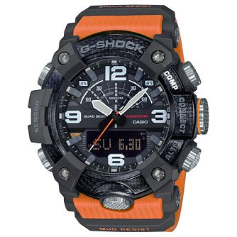 Casio G-Shock Men's Mudmaster Orange Rubber Strap Watch - Product number 5091144