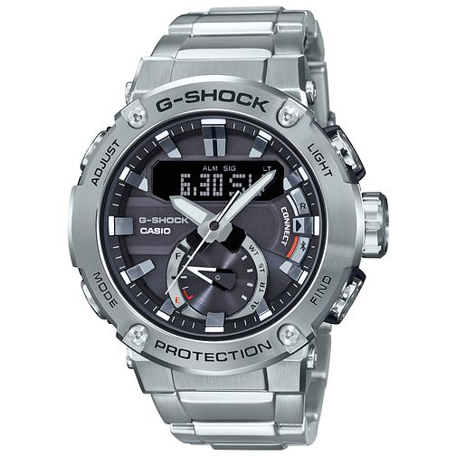 Casio G-Shock G-Steel Carbon Core Guard Bracelet Watch - Product number 5091209