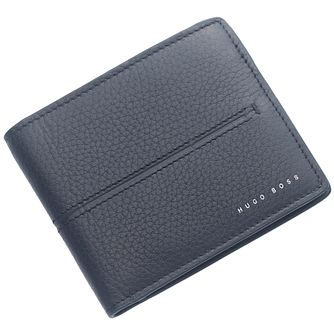 Hugo Boss Men's Navy Leather Wallet - Product number 5092418