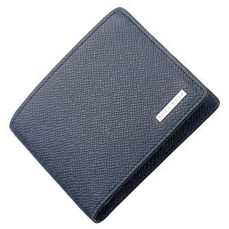BOSS Men's Navy Leather Cardholder - Product number 5092434