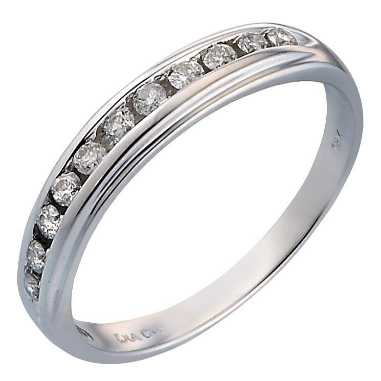 18ct White Gold 1 5 Carat Diamond Eternity Ring
