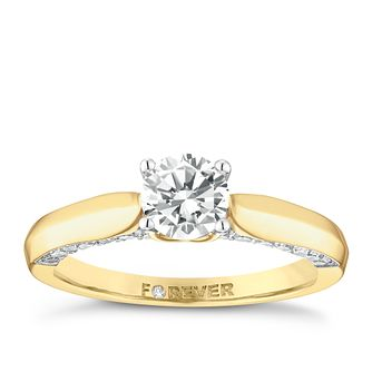 18ct Gold 1 Carat Forever Diamond Ring - Product number 5110246