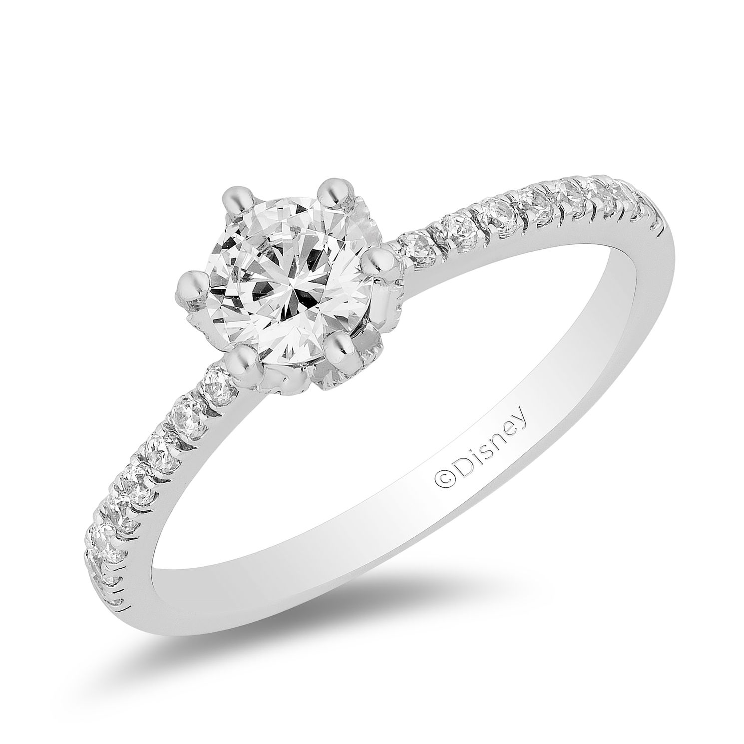 Enchanted Disney Fine Jewelry 0.75ct Diamond Elsa Ring - Product number 5112273