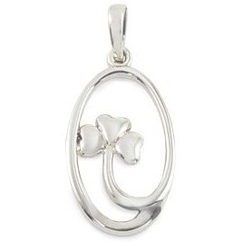 Cailin Sterling Silver Clover Pendant - Product number 5120020