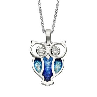 Ortak Nature In Flight Sterling Silver Pendant - Product number 5120276