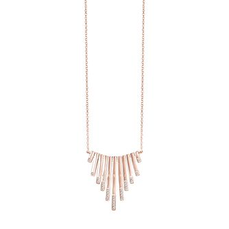 "Guess Massive Rose Gold-Plated Necklace 16-18"" - Product number 5121434"