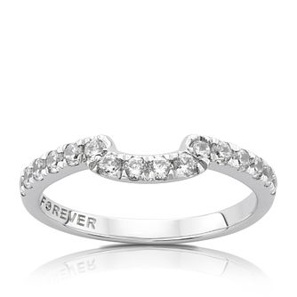 The Forever Diamond Platinum 1/3ct Diamond Eternity Ring - Product number 5125618