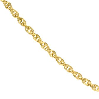 9ct Yellow Gold 18 Inch Loose Rope Chain - Product number 5125901