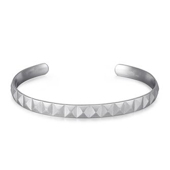 Kingka Stainless Steel Pyramid Design Bangle Bracelet - Product number 5125960