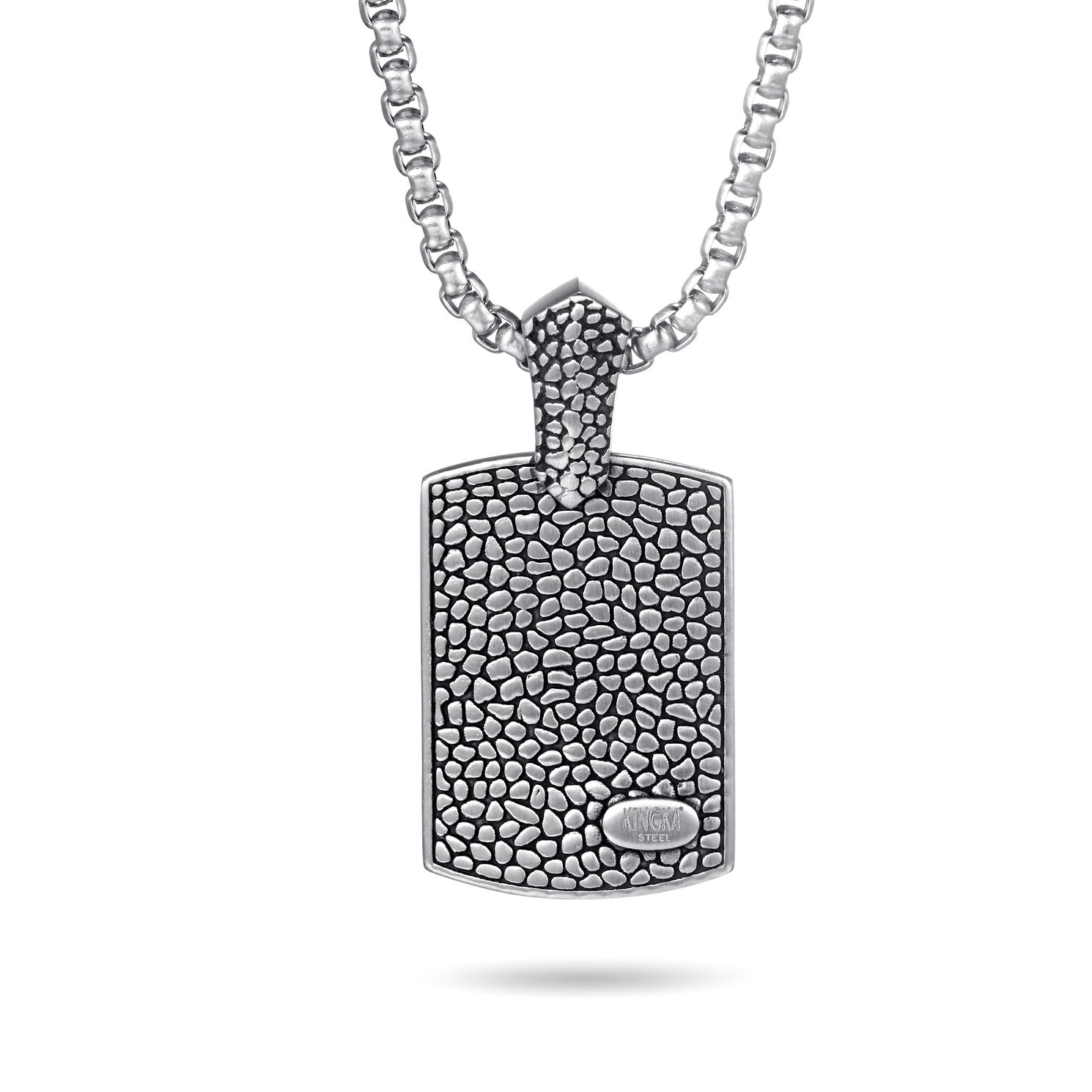Kingka Stainless Steel ReptileDog Tag  Pendant - Product number 5126150