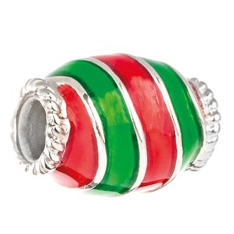 Chamilia Christmas Candy Charm with Red & Green Enamel - Product number 5126924