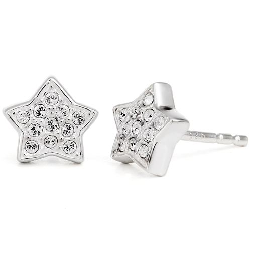 Chamilia Sterling Silver Swarovski Petite Star Stud Earrings - Product number 5127416