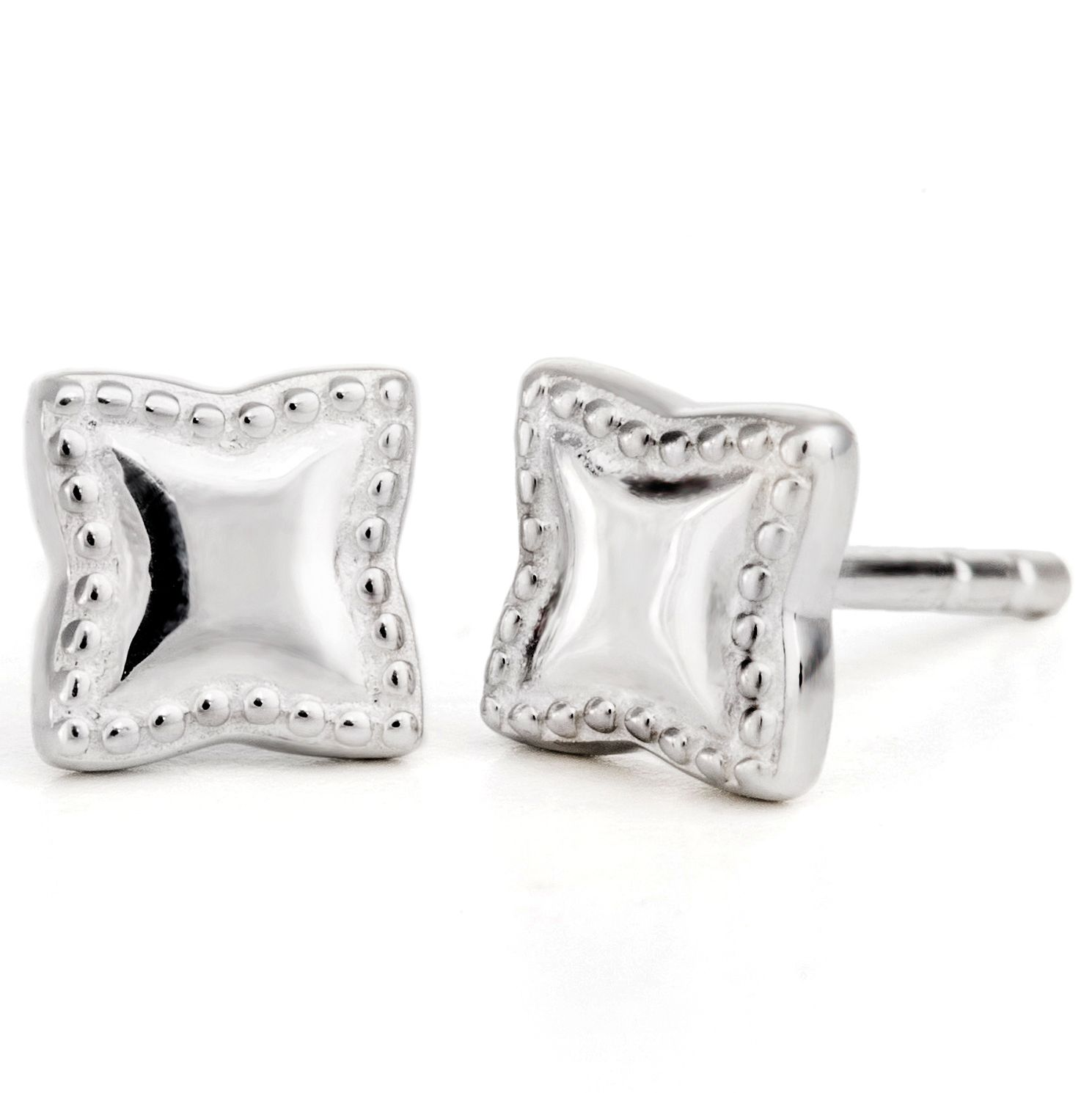 Chamilia Sterling Silver Bright Petite Star Stud Earrings - Product number 5127424