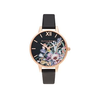 Olivia Burton Enchanted Garden Vegan Leather Strap Watch - Product number 5127947