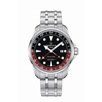 Certina Ds Action Powermatic Stainless Steel Bracelet Watch - Product number 5128331
