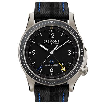 Bremont Boeing Model 1 Ti-Gmt Men's Titanium Strap Watch - Product number 5129168