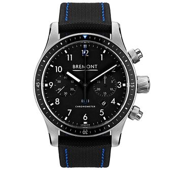 Bremont Boeing Model 247/Bk Men's Stainless Steel Watch - Product number 5129192