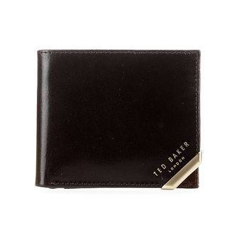 Ted Baker Korning Men's Metal Corner Brown Coin Wallet - Product number 5129478