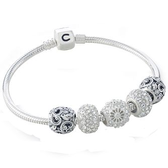 Chamilia Five Charm & Bracelet Gift Set - Product number 5131340