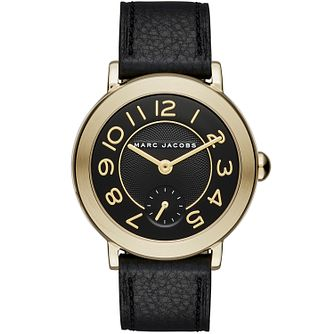 Marc Jacobs Riley Ladies' Gold Tone Strap Watch - Product number 5131510