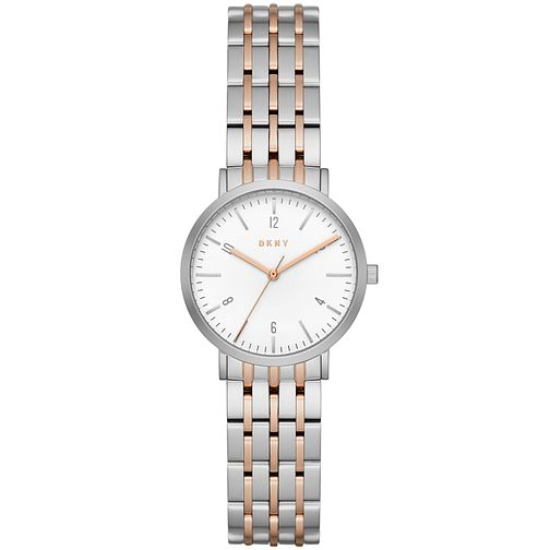 DKNY Ladies' Two Colour Bracelet Watch - Product number 5131782