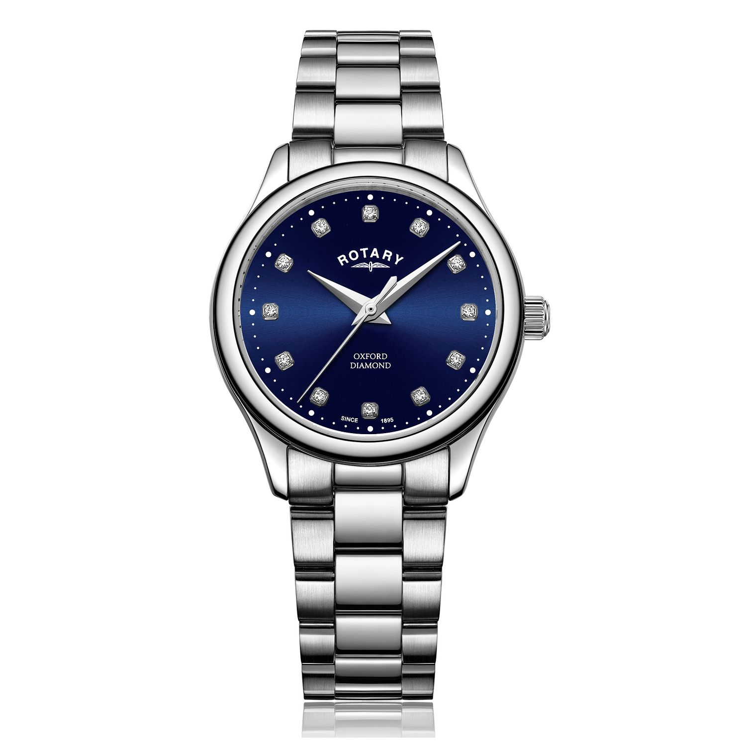 Rotary Oxford Diamond Ladies' Stainless Steel Bracelet Watch - Product number 5132193