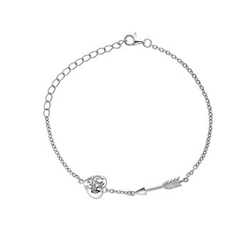 Hot Diamonds Cupid's Arrow Silver Bracelet - Product number 5132614