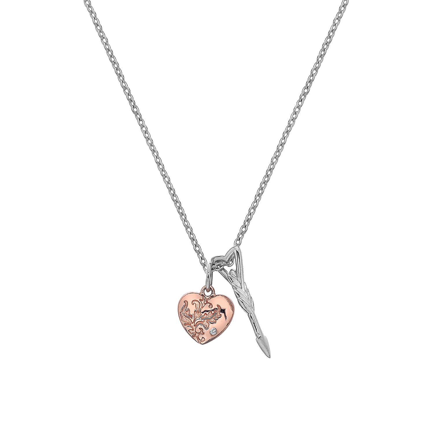 Hot Diamonds Cupid's Arrow Two Tone Pendant - Product number 5132797