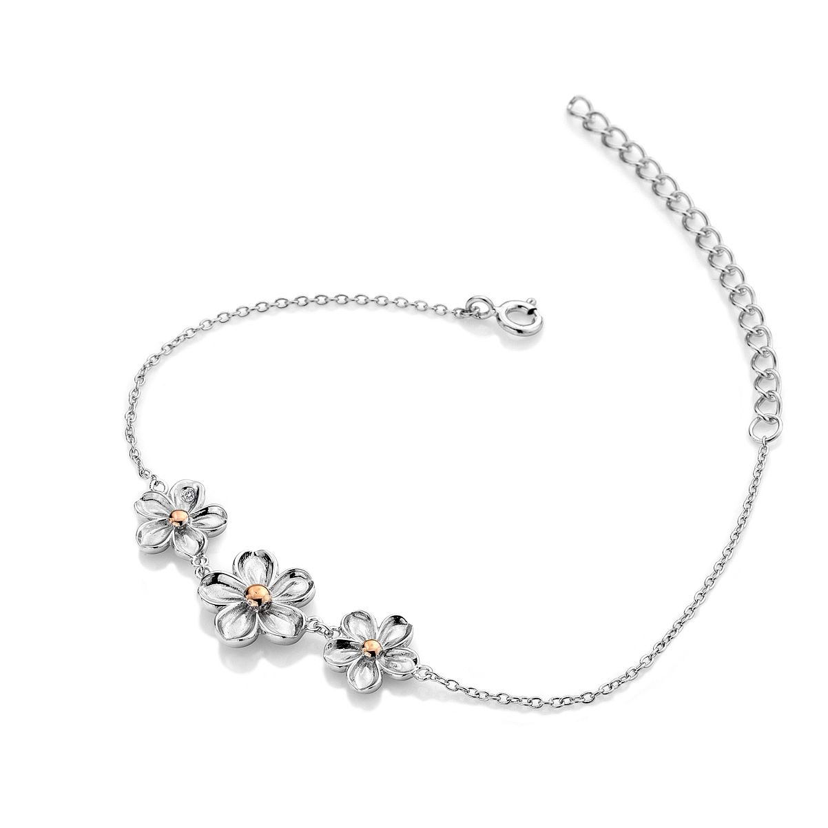 Hot Diamonds Forget Me Not Silver Bracelet - Product number 5132835