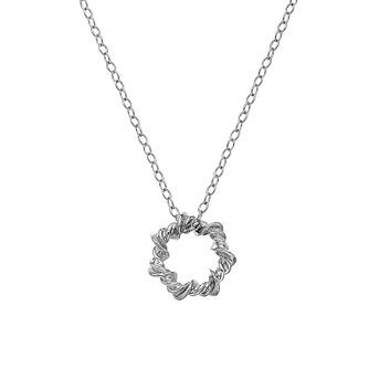 Hot Diamonds Sterling Silver Vine Star Necklace - Product number 5132916