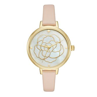 Kate Spade Ladies' Gold Tone Strap Watch - Product number 5134021