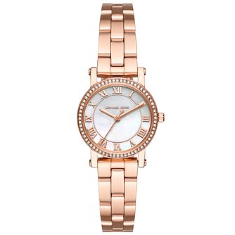 Michael Kors Ladies' Rose Gold Tone Bracelet Watch - Product number 5134285