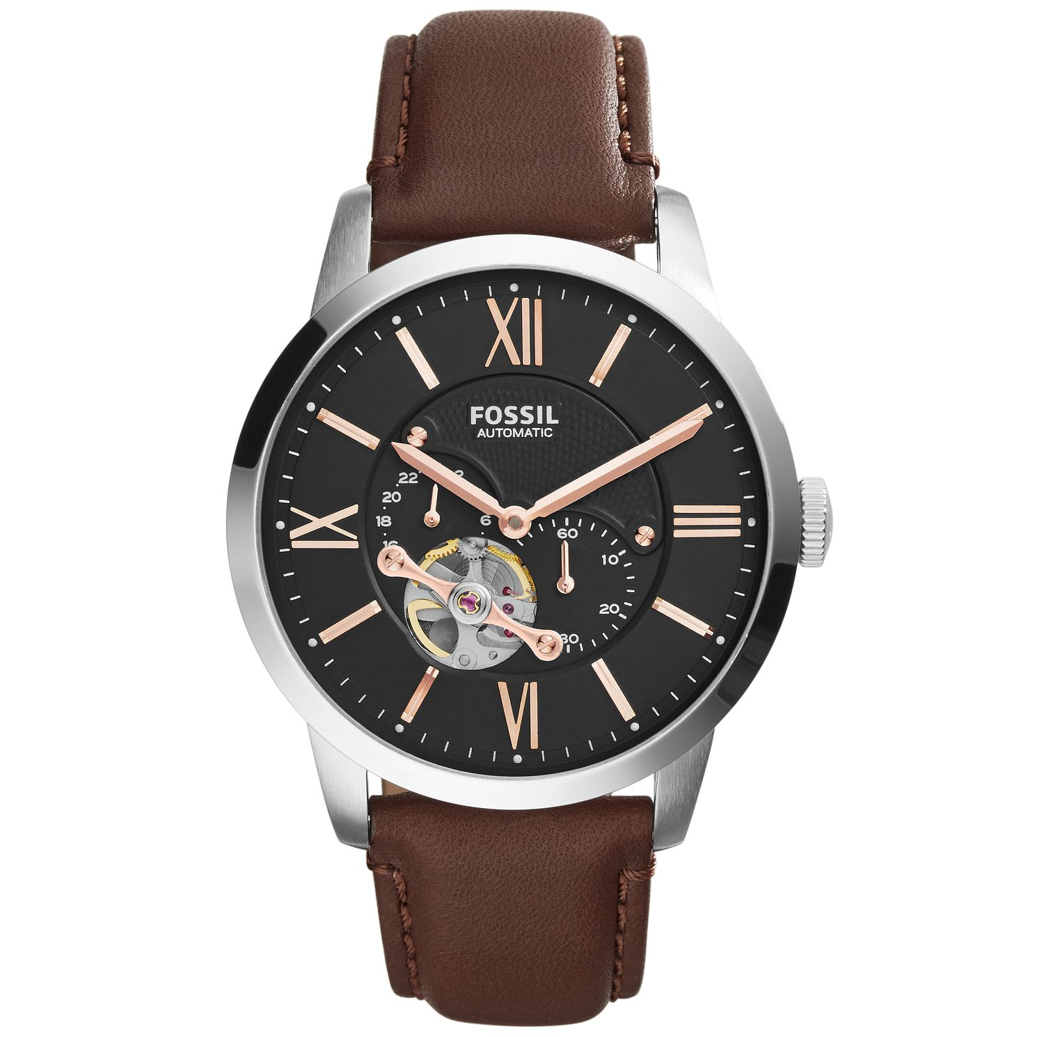 Fossil Townsman Men's Stainless Steel Strap Watch - Product number 5141796