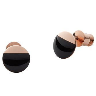 Skagen Elin Rose Gold Tone Stud Earring - Product number 5141990