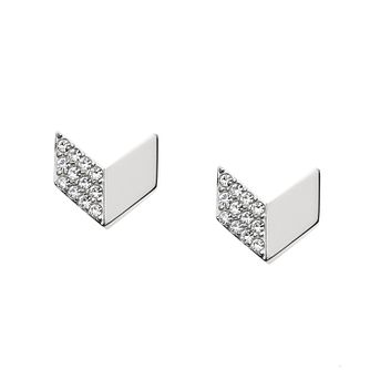 Fossil Stainless Steel Vintage Glitz Stud Earrings - Product number 5142253